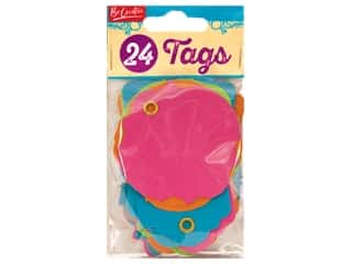 twine: Leisure Arts Scrap Tag 24 pc Bright