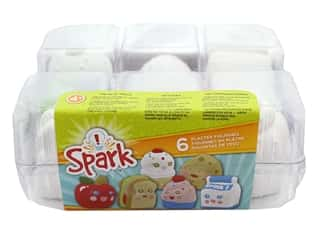 projects & kits: Colorbok Spark Plaster Value Pack - Lunch Buddies