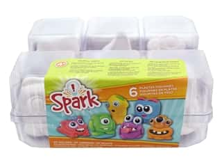 projects & kits: Colorbok Kit Spark Plaster Value Pack Monster