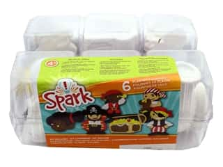 Colorbok Kit Spark Plaster Value Pack Pirate