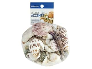 candle color: Panacea Decorative Seashells 12 oz. Assorted