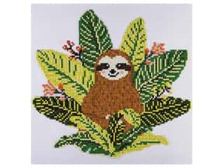 "Diamond Art Kit 12""x 12"" Intermediate Sloth"