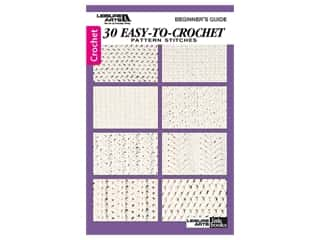 books & patterns: Leisure Arts Beginner's Guide 30 Easy To Crochet Book