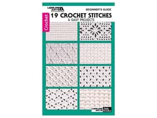 books & patterns: Leisure Arts Beginners Guide 19 Crochet Stitches Book