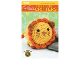 books & patterns: Leisure Arts Easy Crochet Critters Book