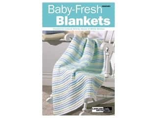 Leisure Arts Crochet Baby Fresh Blankets Book