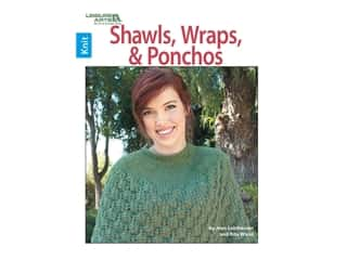 Leisure Arts Shawls, Wraps & Ponchos Book