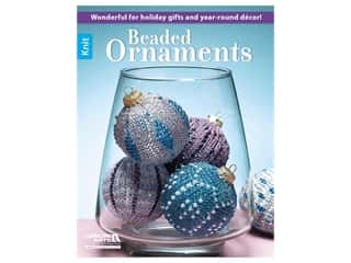 Leisure Arts Beaded Ornaments Book