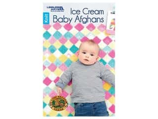 Leisure Arts Ice Cream Baby Afghans Book