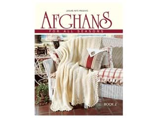 Leisure Arts Afghans For All Seasons #2 Book