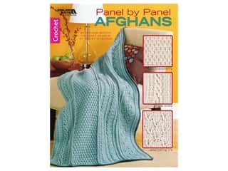 Panel by Panel Afghans Crochet Book