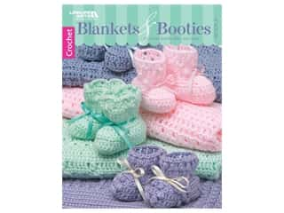Leisure Arts Blankets & Booties #2 Book