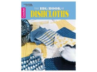 Leisure Arts The Big Book of Dishcloths Crochet Book