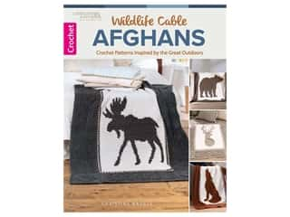 books & patterns: Leisure Arts Wildlife Cable Afghans Book
