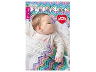 books & patterns: Leisure Arts Bright Baby Blankets Crochet Book