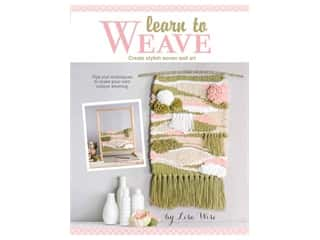 books & patterns: Leisure Arts Learn To Weave Laminated Book