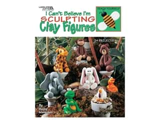 books & patterns: Leisure Arts I Can't Believe I'm Sculpting Clay Figures Book