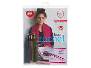 yarn & needlework: Susan Bates Learn Crochet Starter Kit