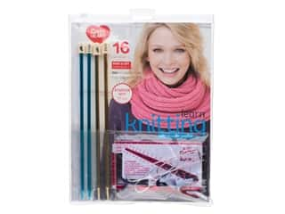 projects & kits: Susan Bates Learn Knitting Starter Kit