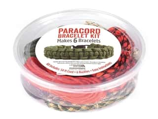craft & hobbies: Leisure Arts Kit Paracord Bracelet Boy