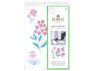 yarn & needlework: DMC Magic Paper Embroidery Flowers 1 pc (3 pieces)