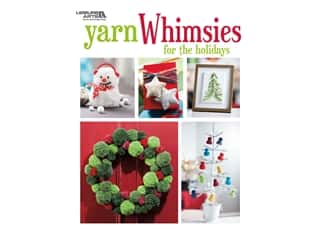books & patterns: Leisure Arts Yarn Whimsies For The Holidays Book