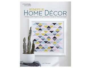 Leisure Arts Simple Home Decor Book