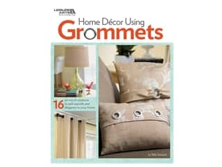 books & patterns: Leisure Arts Home Decor Using Grommets Book