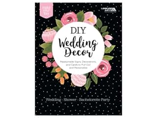 books & patterns: Leisure Arts DIY Wedding Decor Book