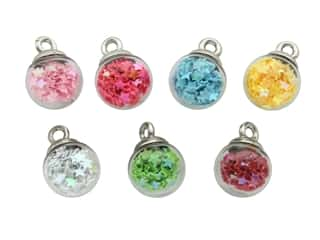 novelties: Jesse James Embellishments - Mini Bubble Ball Rainbow