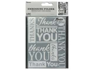 Darice Embossing Folder Thank You
