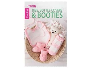books & patterns: Leisure Arts Bibs, Bottle Covers & Booties Crochet Book