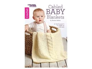 books & patterns: Leisure Arts Cabled Baby Blankets Crochet Book