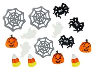 scrapbooking & paper crafts: Jesse James Dress It Up Embellishments Halloween Collection Things That Make You Go Boo