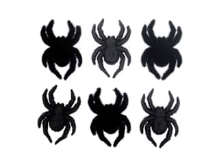 craft & hobbies: Jesse James Dress It Up Embellishments Spiders!