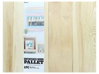 projects & kits: Darice Wood Unfinished Pallet 16 in. x 12 in.