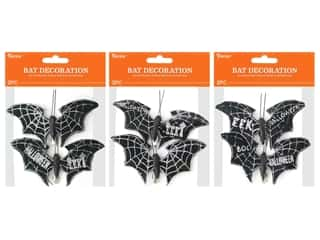 craft & hobbies: Darice Bats Clip Assorted Silver 2pc