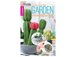 books & patterns: Leisure Arts Make A Crochet Garden Book