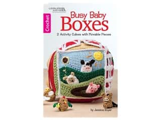 books & patterns: Leisure Arts Busy Baby Boxes Crochet Book