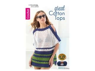 Leisure Arts Great Cotton Tops Crochet Book