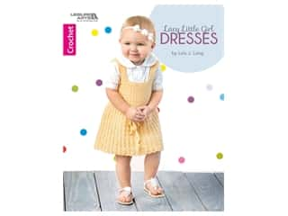 Leisure Arts Lacy Little Girl Dresses Book
