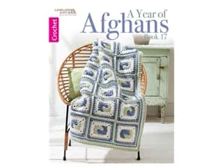 Leisure Arts A Year Of Afghans #17 Crochet Book