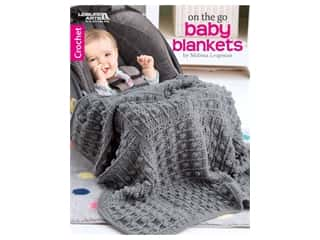 books & patterns: Leisure Arts On The Go Baby Blankets Book