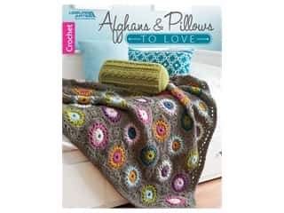 Leisure Arts Afghans & Pillows To Love Book