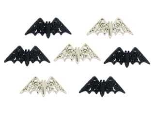 craft & hobbies: Jesse James Dress It Up Embellishments Bewitching Bats