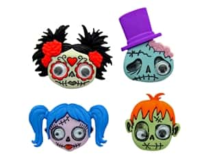 craft & hobbies: Jesse James Embellishments Zainy Zombies