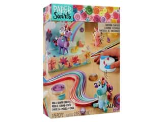 craft & hobbies: Alex Kit Paper Swirls Unicorn Fantasy