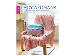 Leisure Arts Lacy Afghans Book
