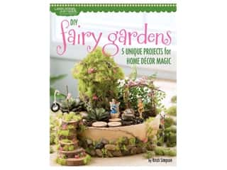 Leisure Arts DIY Fairy Gardens Book