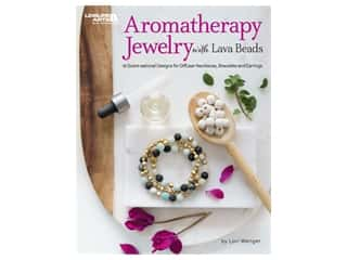 beading & jewelry making supplies: Leisure Arts Aromatherapy Jewelry With Lava Beads Book